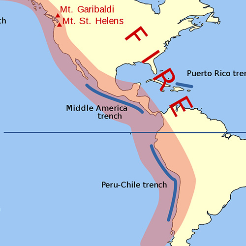 The Pacific Ring of Fire: A Geologic Overview