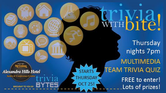 Redland City Event - Trivia BYTES @ The Alex