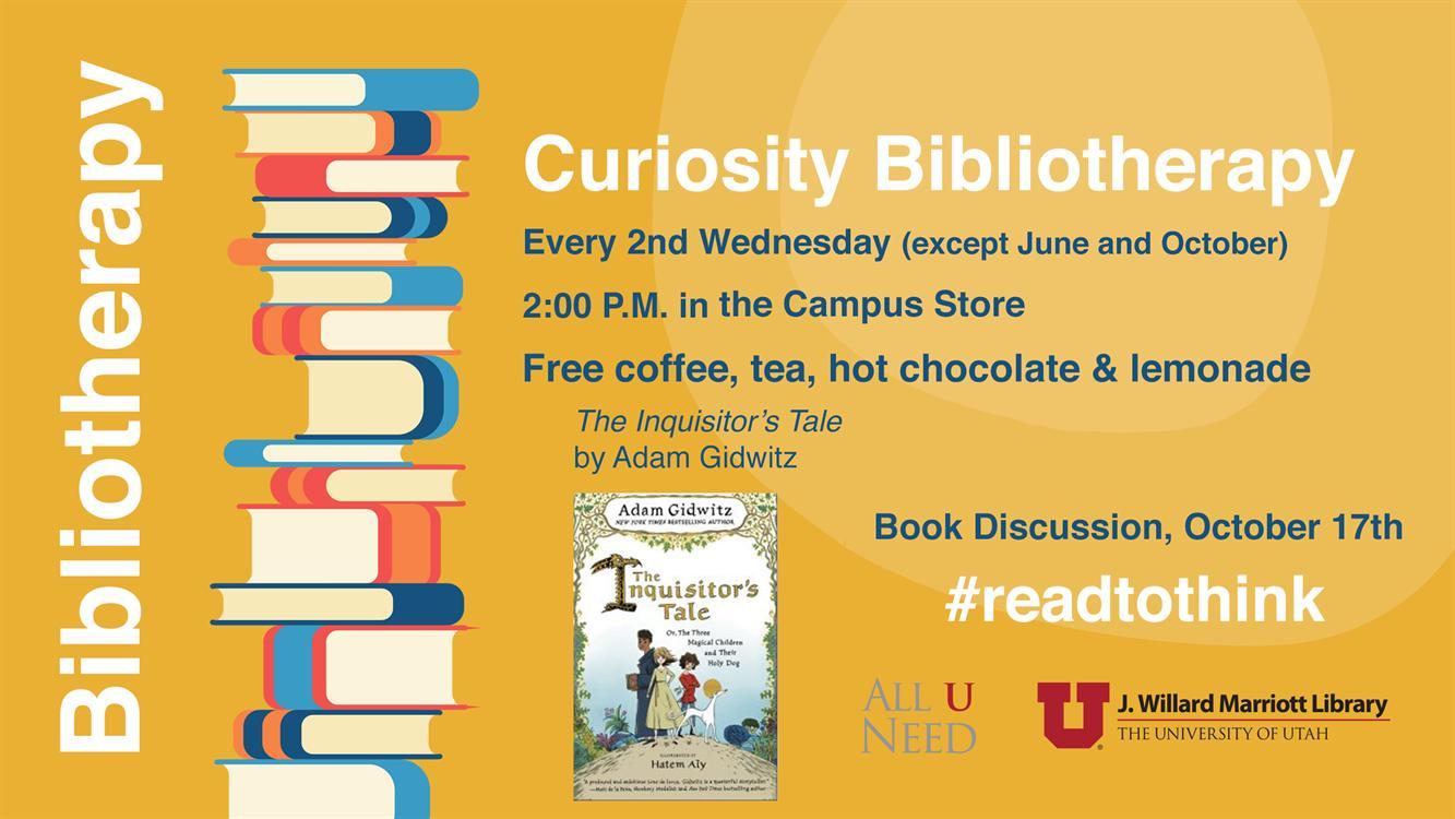 Curiosity Bibliotherapy - Fantasy Book Club
