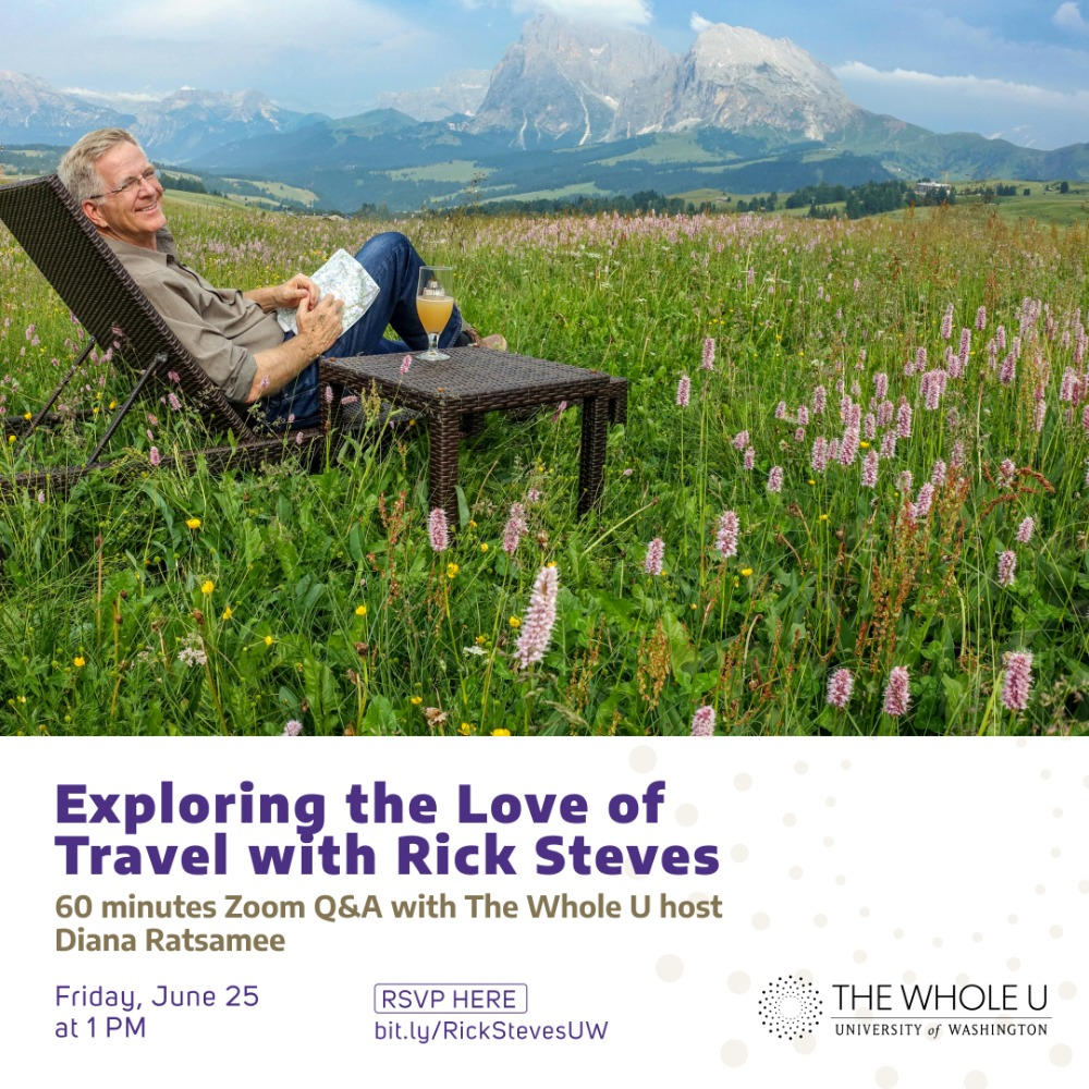 Exploring The Love of Travel With Rick Steves