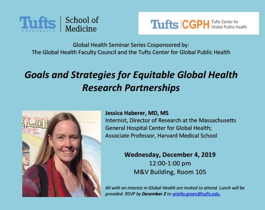 Global Health Seminar Series