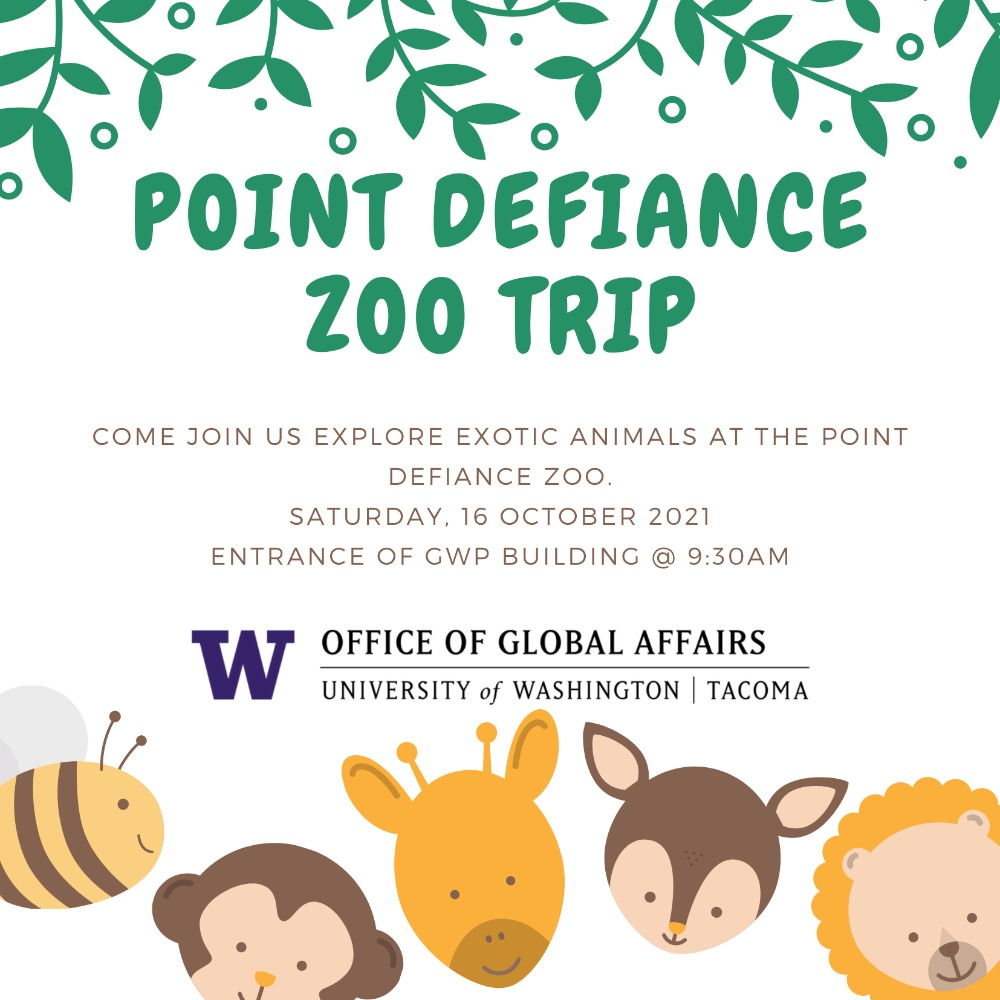 ISSS Point Defiance Zoo Trip