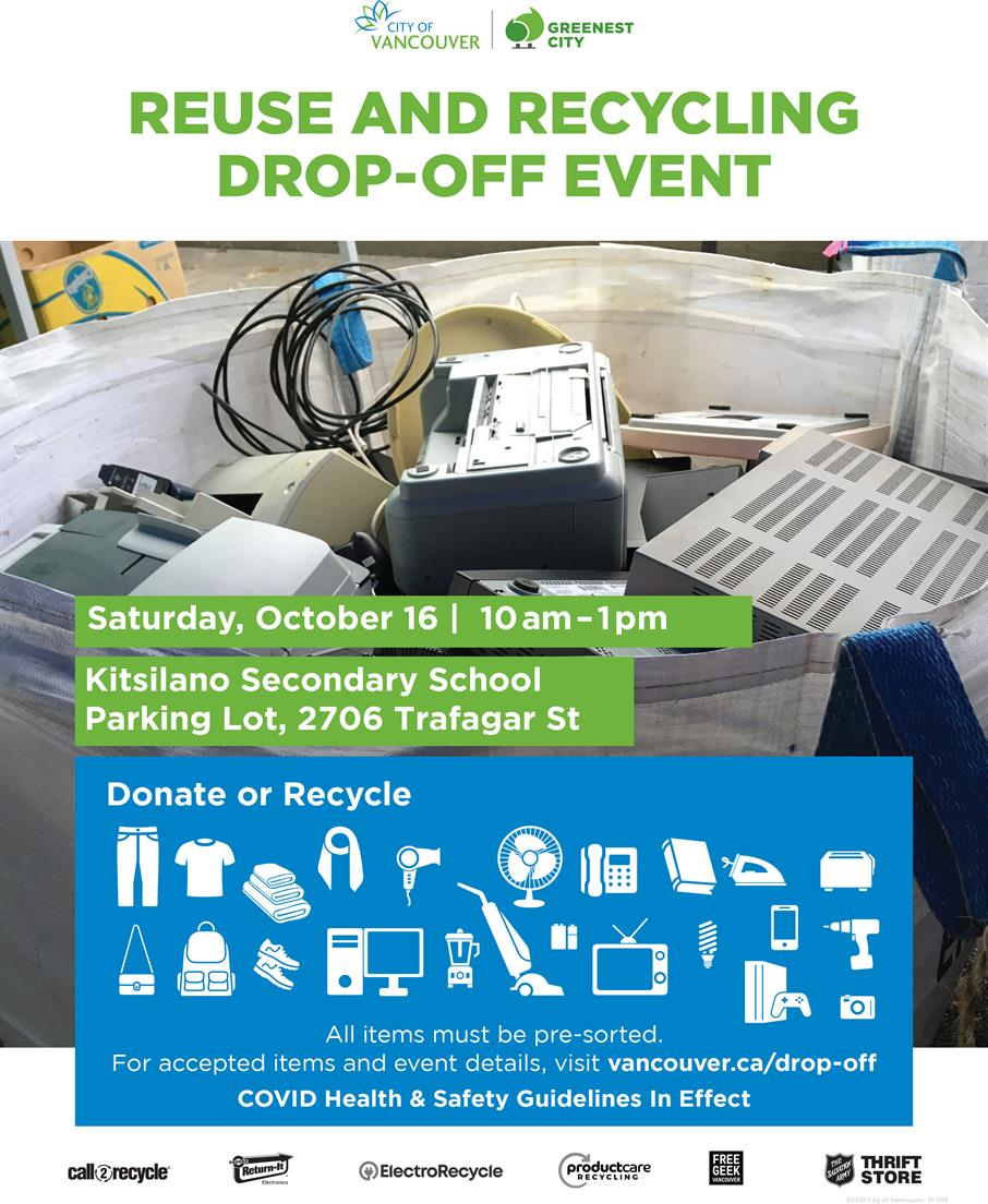 Reuse and Recycling Drop off event