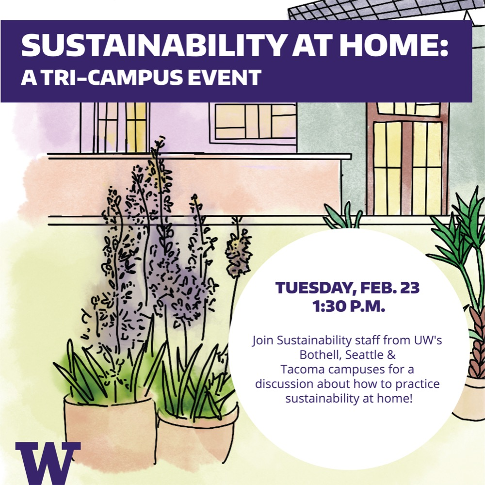Sustainability at home: Tri-campus event