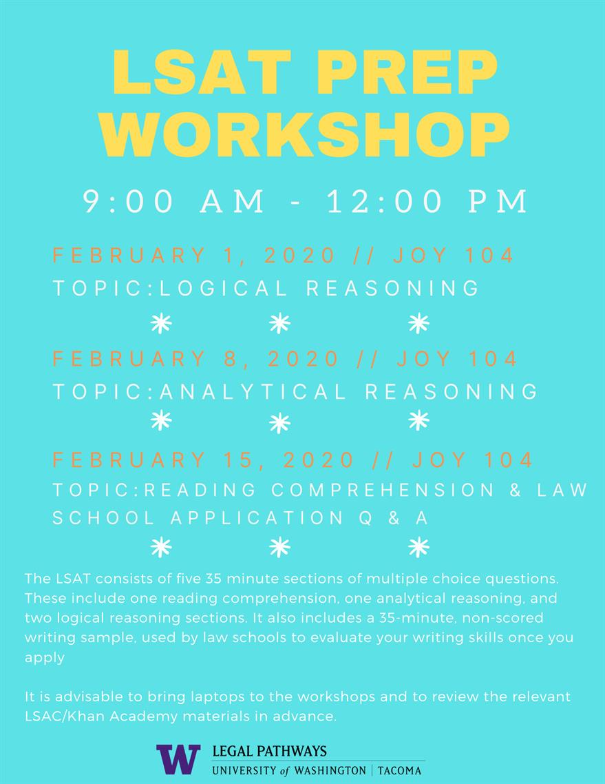LSAT Prep Workshop: Reading Comprehension and Q&A