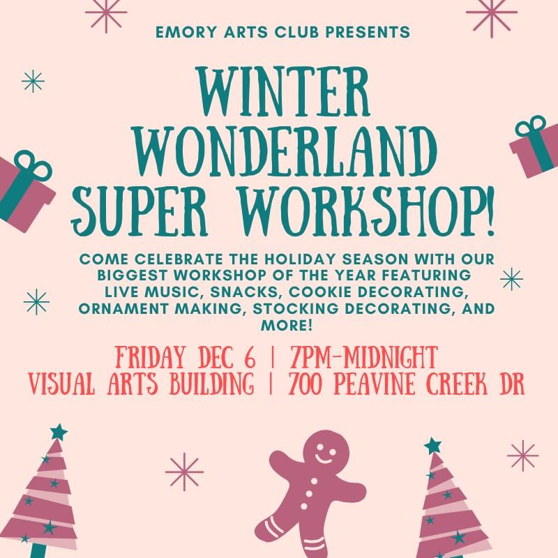 Art Club Winter Wonderland