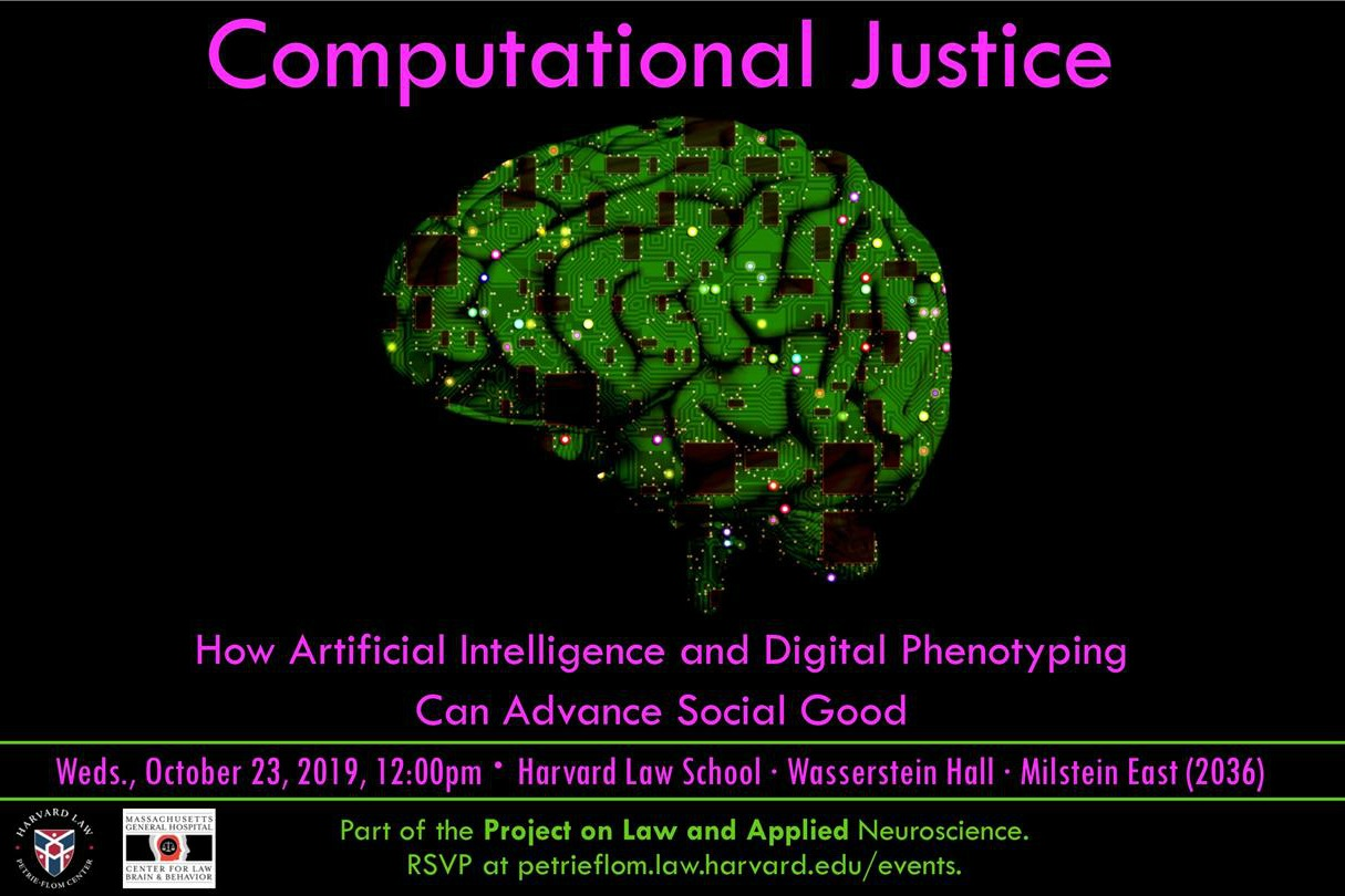 Computational Justice: How Artificial Intelligence and Digital Phenotyping Can Advance Social Good