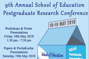 School of Education Postgraduate Research Conference