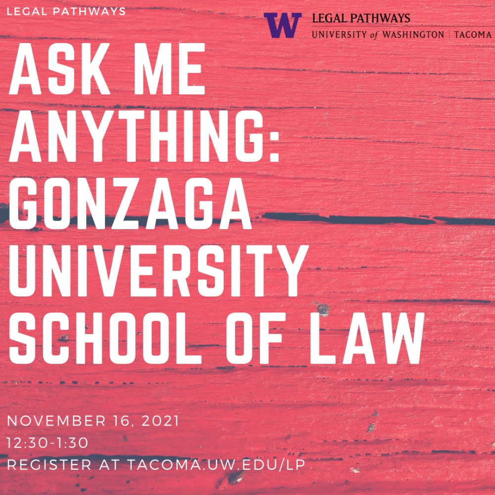(WEBINAR) Ask Me Anything: Gonzaga University School of Law