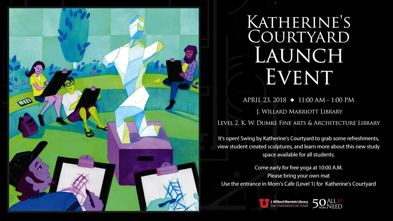 Katherine's Courtyard Launch Event