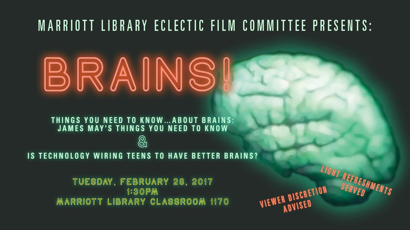 Brains! - Free Film and Food