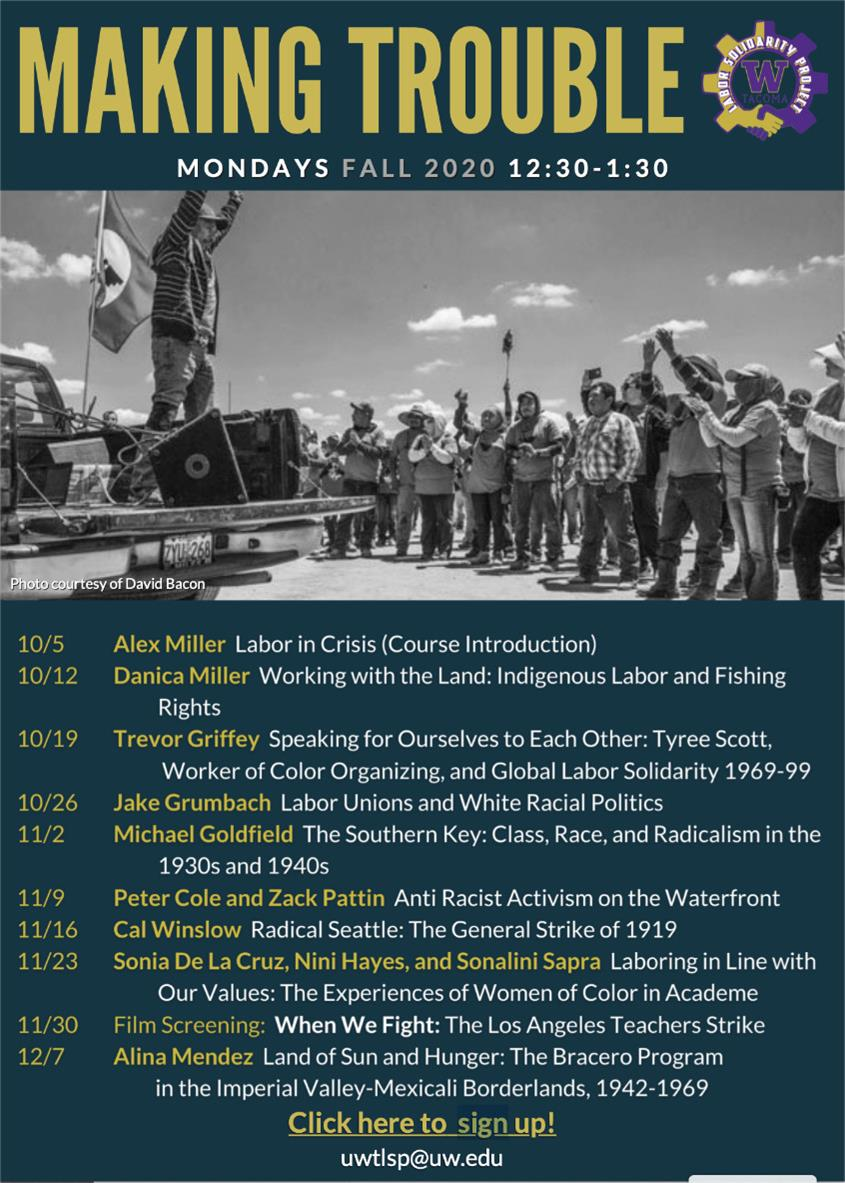 "Making Trouble Seminar Series: ""Radical Seattle: The General Strike of 1919,"" w/Cal Winslow"